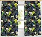 Ben 10 Ultimate Alien Curtains, 66 x 54-inch