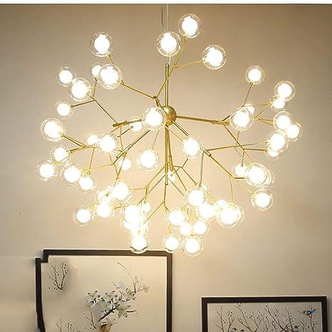 Lámparas de araña Grande Más luz,Lámpara de techo Suspensión ...