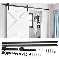 Schuifdeursysteem, 6,6 m, looprails voor schuifdeur, looprail, deur, hardware kit, schuifdeurbeslag, deur-hardware-kit…