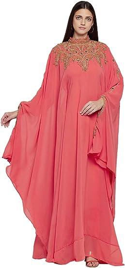 Aniiq Robe Longue A Manches Longues Avec Echarpe Offerte Pour Femme Amazon Ca Vetements Et Accessoires