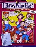 I Have, Who Has? Math, Grades 3-4, Trisha Callella, 1591982308