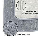 A-QMZL Bathroom Rug Mat, Bath Mat Memory Foam Coral