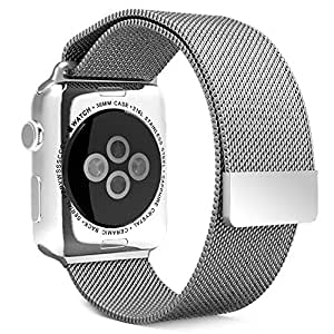 Amazon.com: Wearlizer Milanese Loop Watch Band Replacement ...