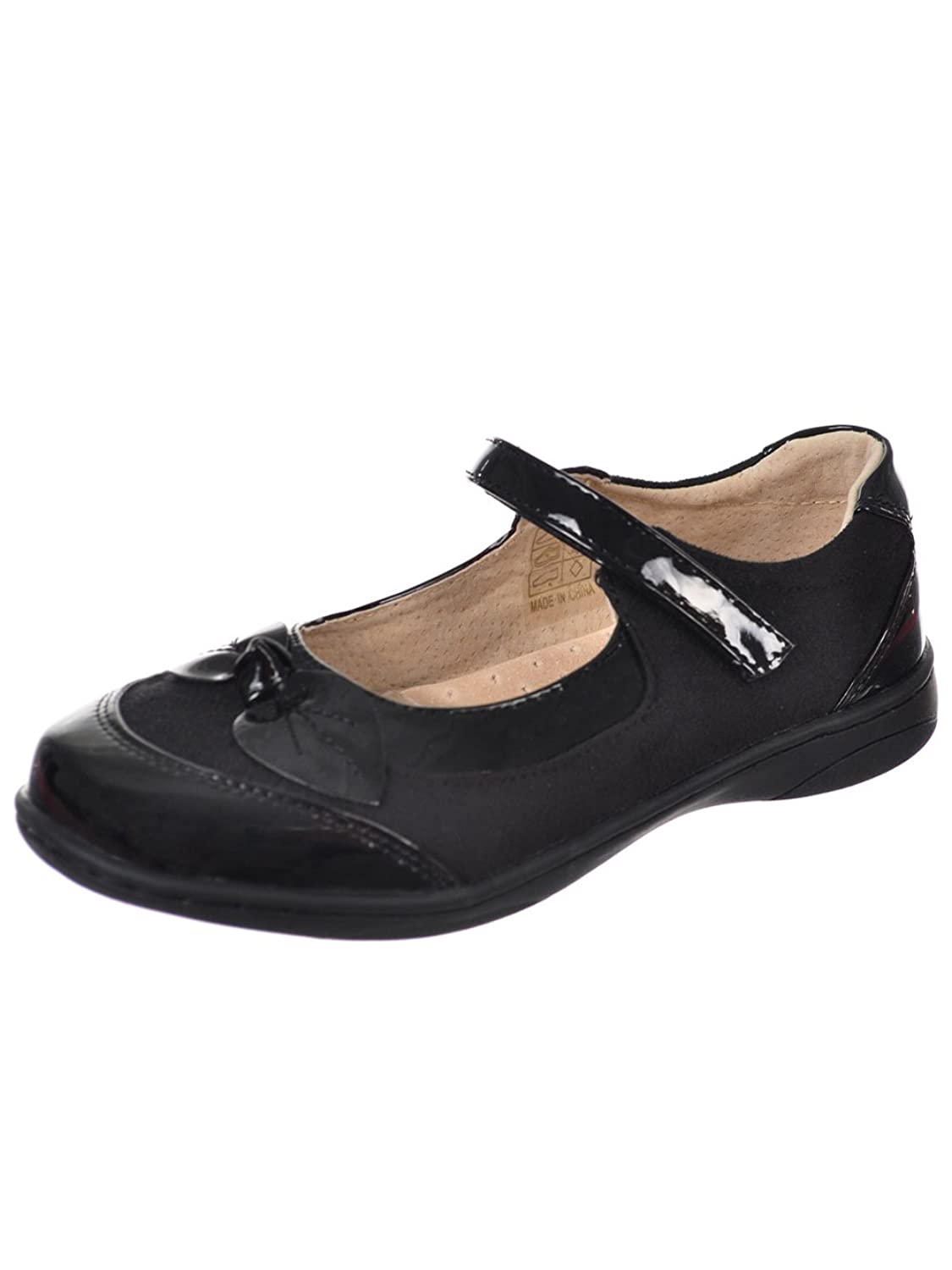 fc2c687ac324 Easy Strider Girls Patent Bow Mary Janes