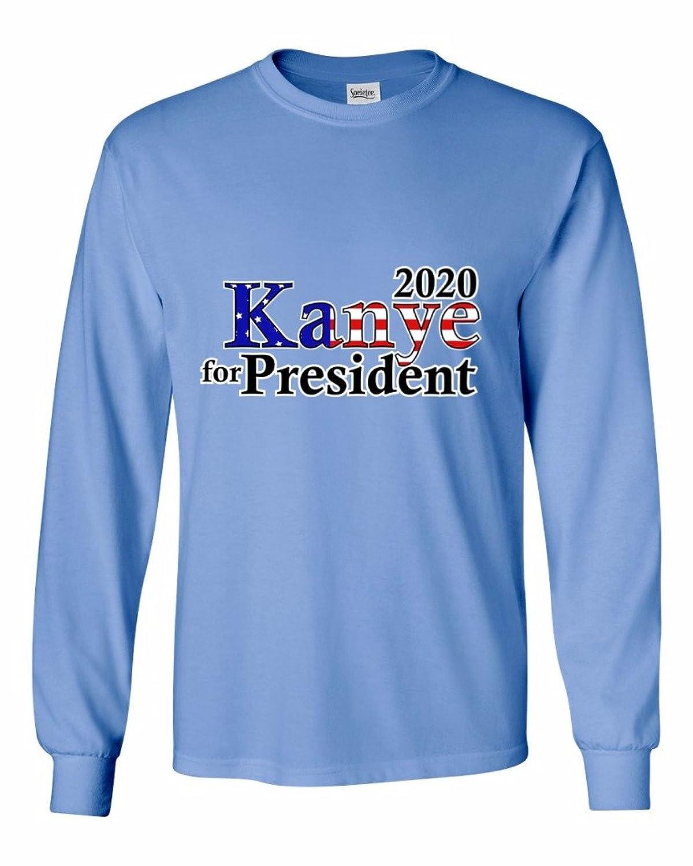 Kanye For President 2020 - Men's Long Sleeve T-Shirt