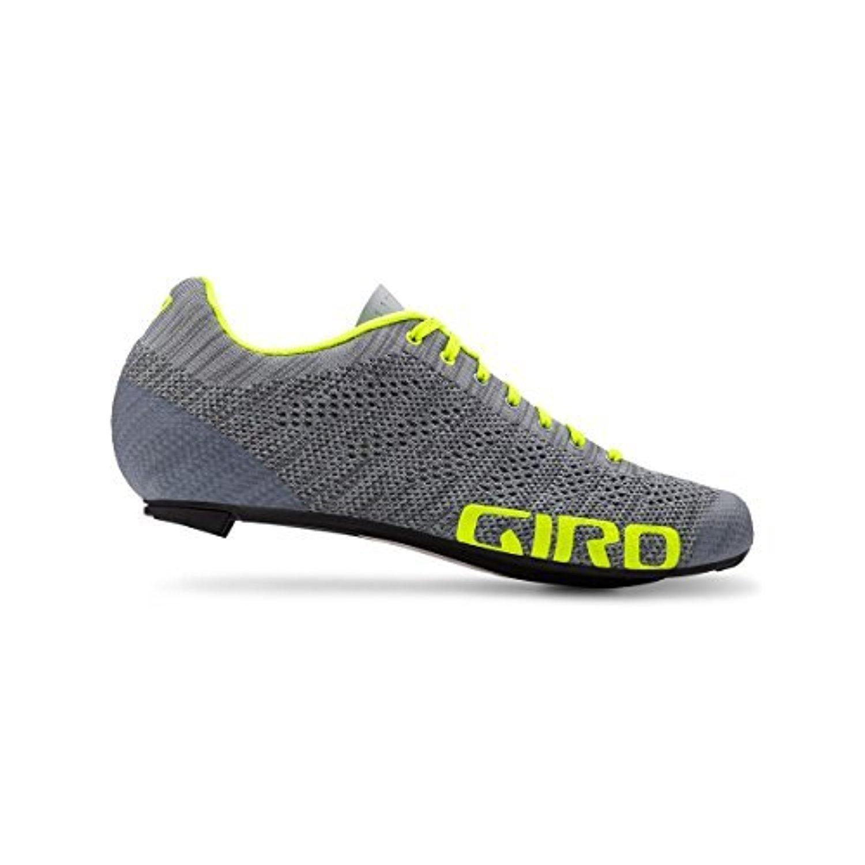 Giro, USA APPAREL メンズ 45 Grey Heather / Hi Yellow B07DHYCKN3