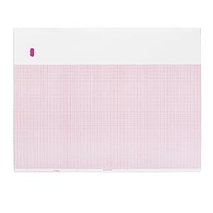 ECG EKG Paper GE Marquette 9402-061 Compatible Thermal Recording Sheets 16 Packs per Case