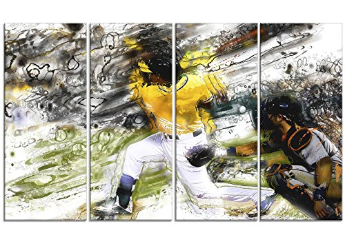 Baseball Large Framed Print (Digital Art PT2559-271