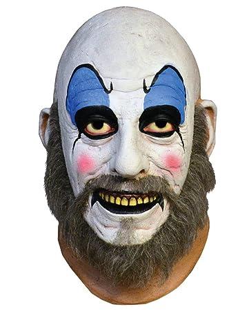 baf590b2966 Horror-Shop Lizenzierte Captain Spaulding Maske  Amazon.de  Spielzeug