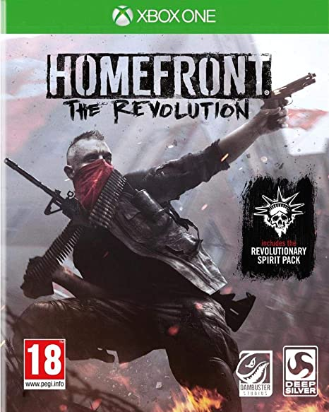 Deep Silver Homefront: The Revolution, Xbox One Básico Xbox One ...