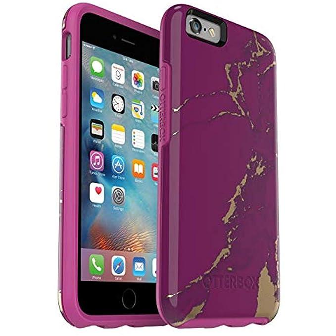 best website 224ba c3ba7 OtterBox Symmetry Series Case for iPhone 6/6S (NOT Plus) - Bulk Packaging -  Purple Marble