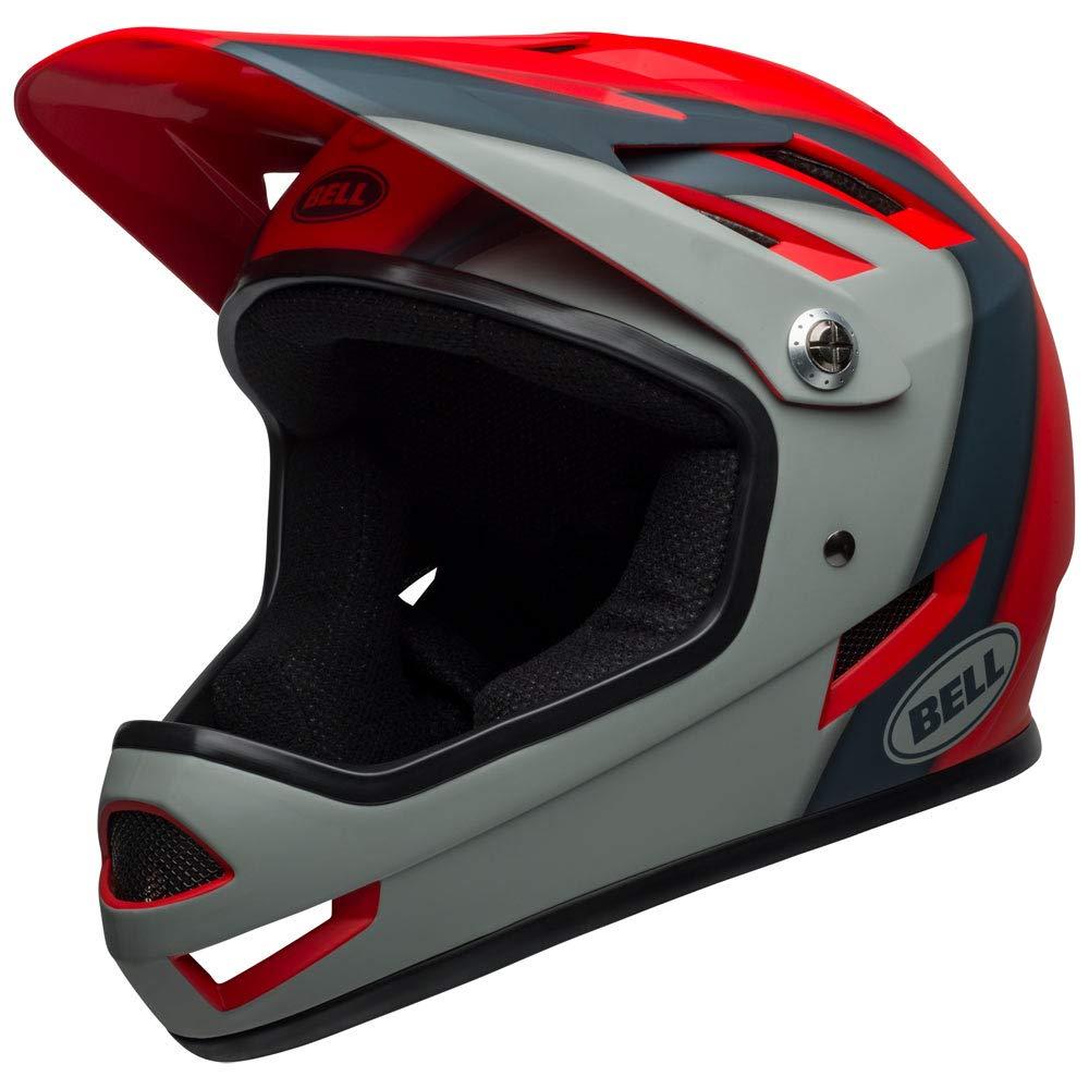 Bell Sanction Bike Helmet - Presences Matte Crimson/Slate/Gray X-Small