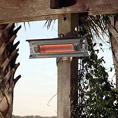 Fire Sense Indoor/Outdoor Wall-Mounted Infrared Heater-p