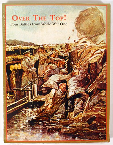 Decision Games - OVER THE TOP - Four WWI Battles - Infiltration Board Game