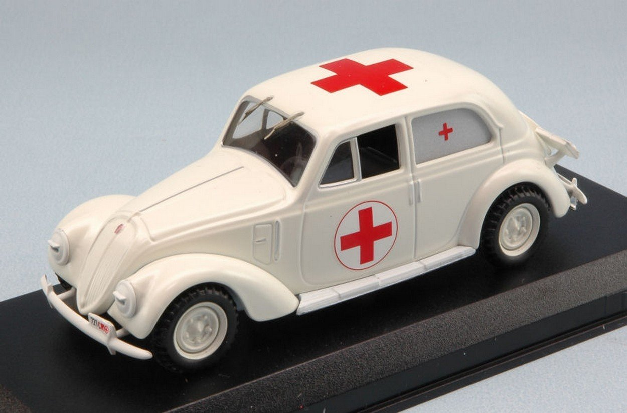 Best Model BT9595 Fiat 1500 Croce Rossa Italiana 1936 1 43 MODELLINO Die Cast