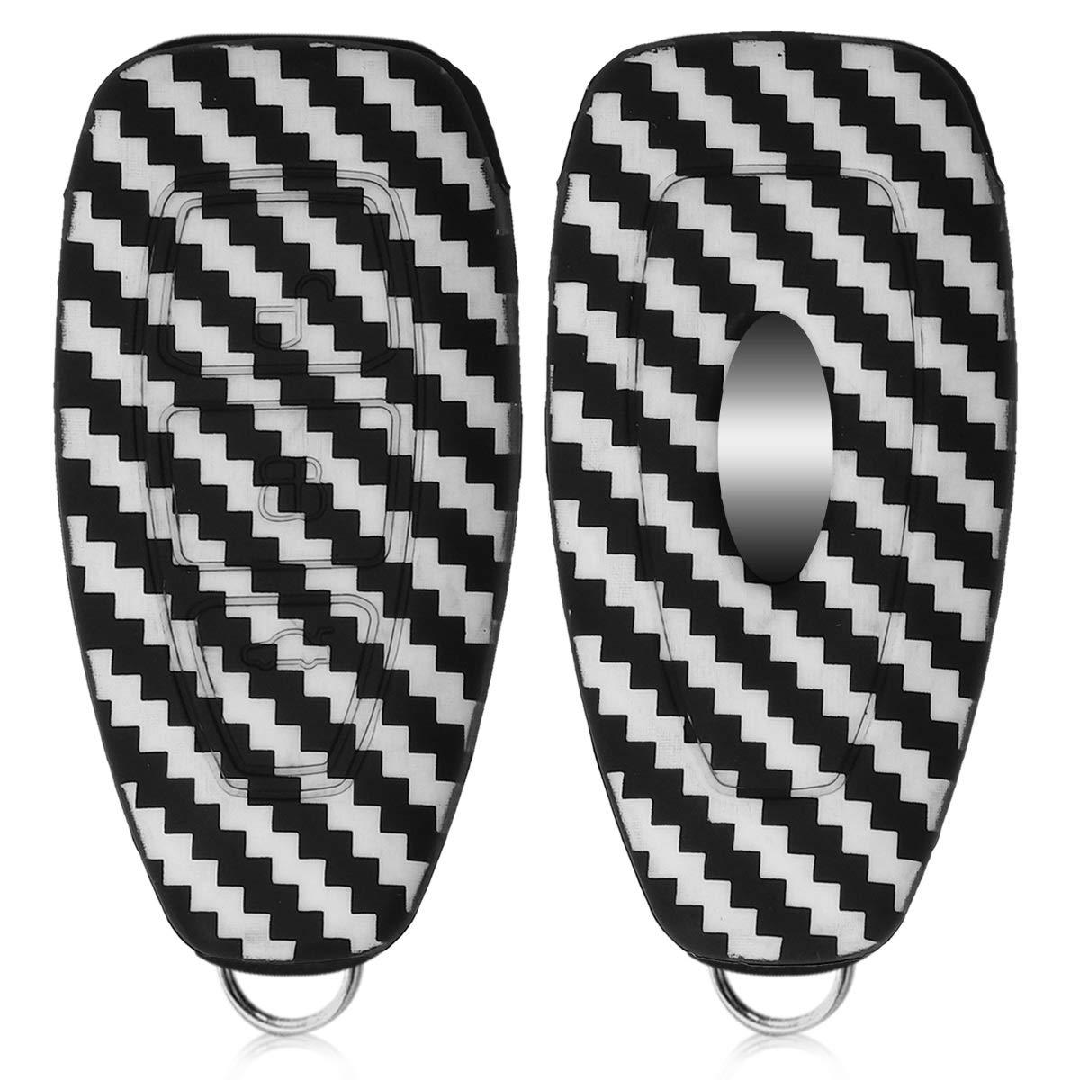 .Diagonal Zigzags white / black