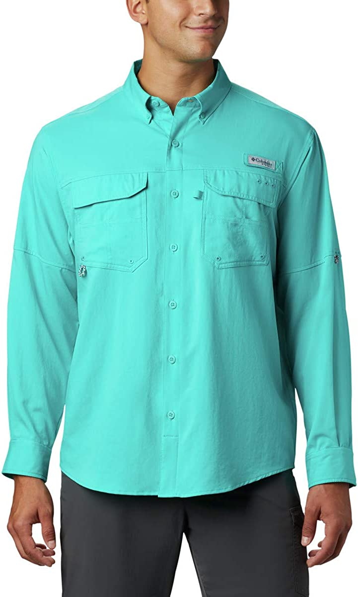 Columbia Mens Blood and Guts III Long Sleeve Woven Shirt