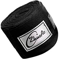 Professional Handwraps Hand Bandages for Boxing Kickboxing Muay Thai MMA - Elastic Stretch Cotton - 5m X 5 cm (16ft X 2inch)