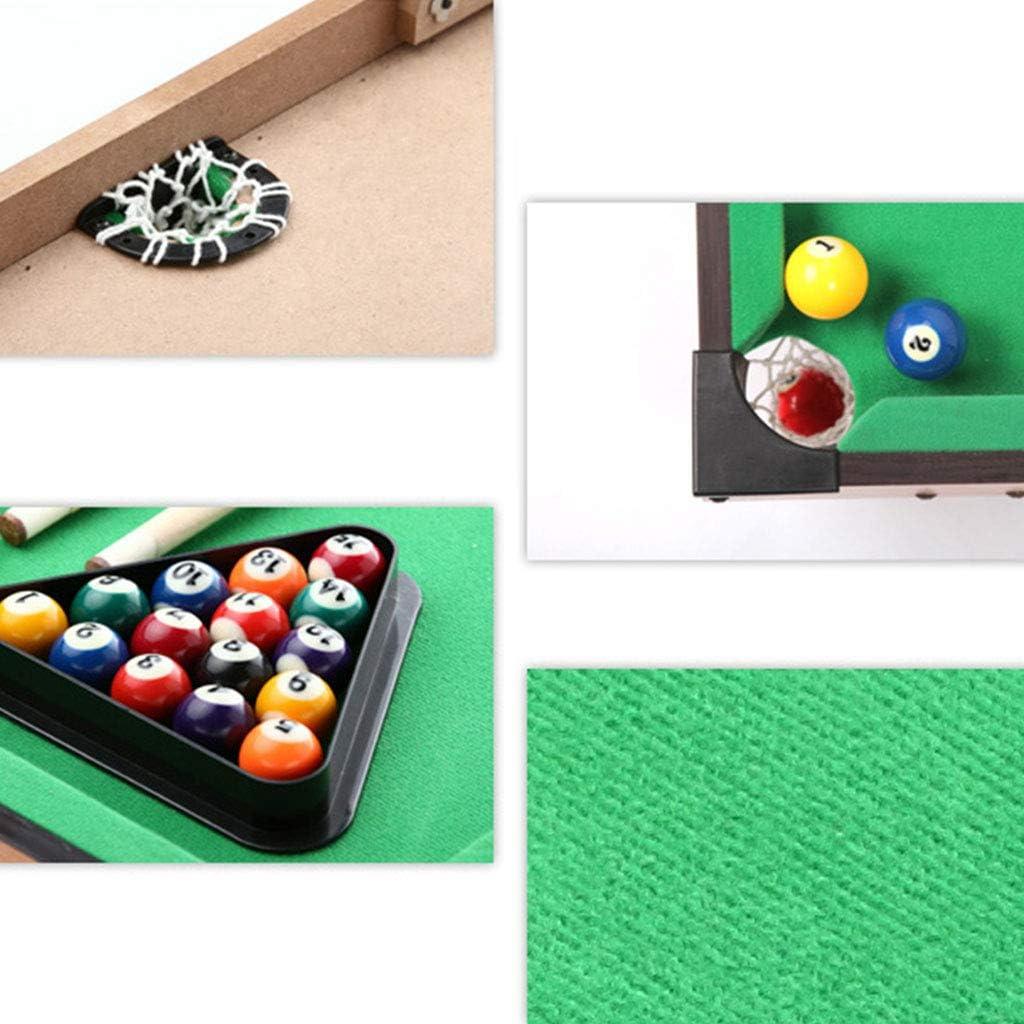 Billar en la Mesa de Madera simulación de los niños Juguetes de ...