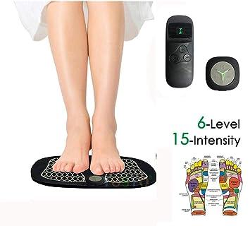 EMS eléctrico Masajeador de pies, almohadilla de masaje de ...