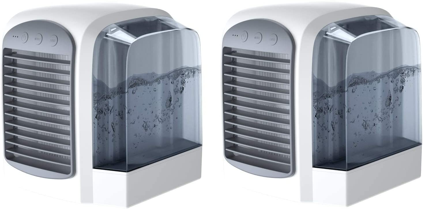 Ez Breezee Rapid Cooling In 30 Seconds - Personal Air Condition - Stay Cool and Comfortable With Portable Convenience - Humidifier Air Filtration System (2)