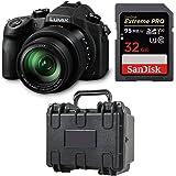 Panasonic LUMIX DMC-FZ1000 Camera w/SanDisk 32GB Memory Card & Hard Case