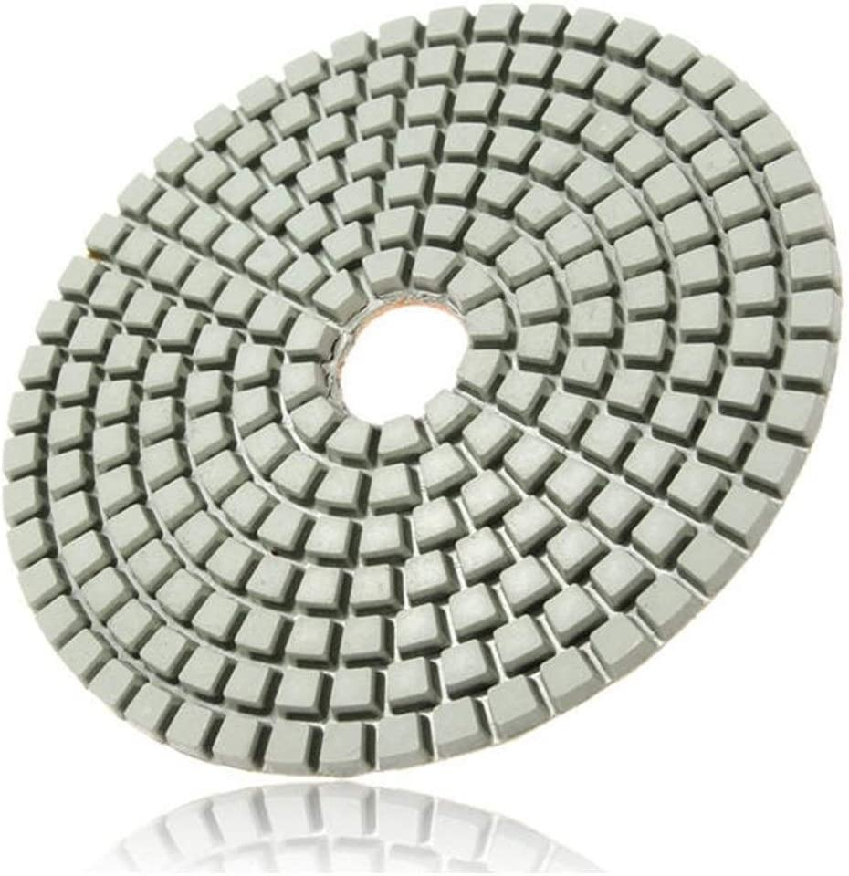 YOZOOE 15pcs 4 Inch Polishing Pads Set with Self-Adhesive Disc Angle Grinder Wheels