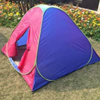 Meanhoo Outdoor campr Tent, 2-3 Persons Tent,no Need Construction - Waterproof Flysheet,Windproof Tent for Camping/Hiking/Climbing