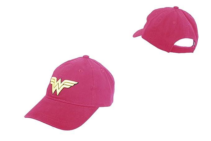 Wonder Woman - Gorra para Mujer Rojo 55/60: Amazon.es: Ropa y ...