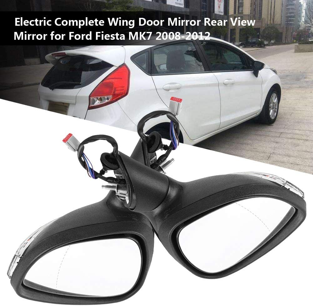 FOR NISSAN QASHQAI 2007-2013 DOOR MIRROR HEATED ELECTRIC PRIMED LEFT BRAND NEW