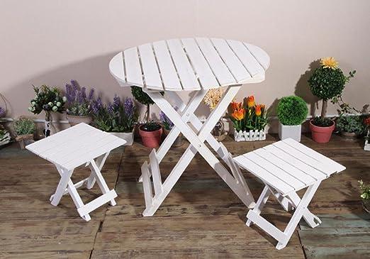New day®-País retro viejas sillas plegables y mesas plantadores de ...