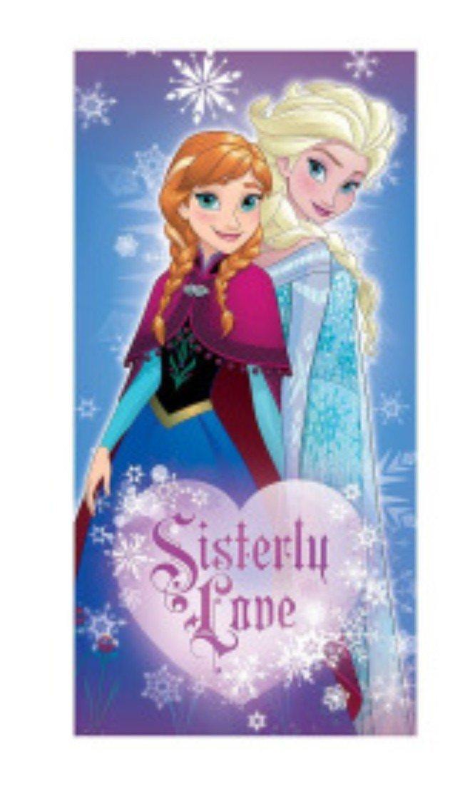Disney's Frozen Anna & Elsa ''Sisterly Love'' Canvas Wall Art