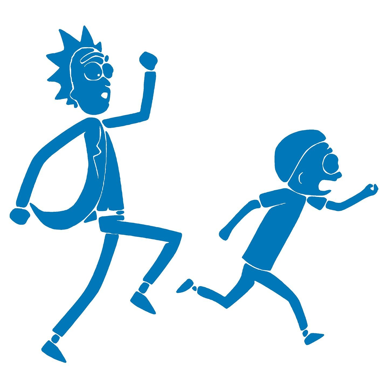 Rick y Morty Corriendo