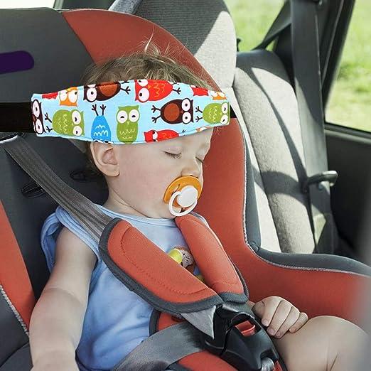 Schlaf Stellungsregler 4 Stück Einstellbare Laufställe Schlaf Stellungsregler Kopfband Verstellbare Kopfstütze Für Den Kindersitz Kinderwagen Kindersitz Befestigung Baby