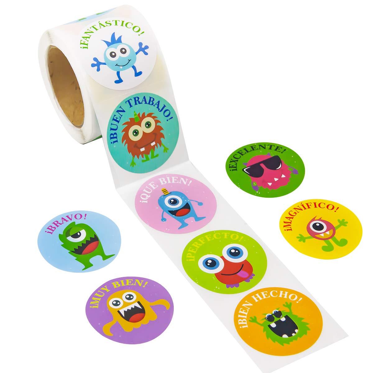 8453 Creative Teaching Press So Much Pun Punny Rewards Stickers