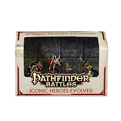 Pathfinder Battles Iconic Heroes Evolved Set: Wizkids: Toys & Games
