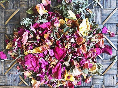 Sage Sweet (Rose, Sage, Geranium and Lemon Balm Loose Incense Floral Blend)