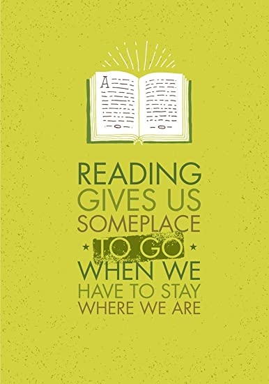 Buy 5 Ace Reading Gives us Someplace|Motivational Quotes|Inspirational  Quotes|Gym Poster| Wall Sticker Paper Poster(Size:12x18 inch), Multicolor  Online at Low Prices in India - Amazon.in
