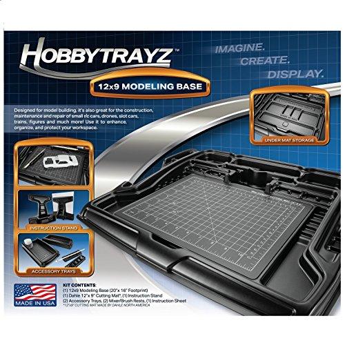 HobbyTrayz 12x9 Modeling Base