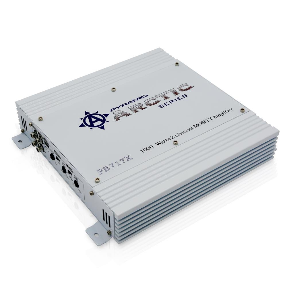 Pyramid PB717X 1,000-Watt 2-Channel Bridgeable Amplifier
