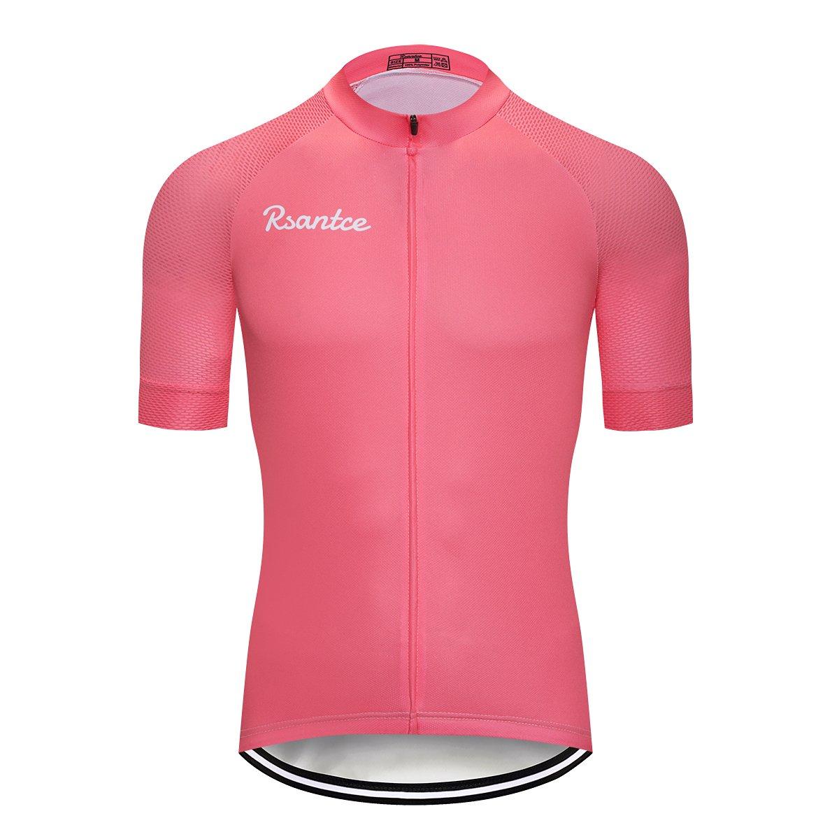Rsantce SHIRT メンズ B07CVT4HQQ Medium|ピンク ピンク Medium