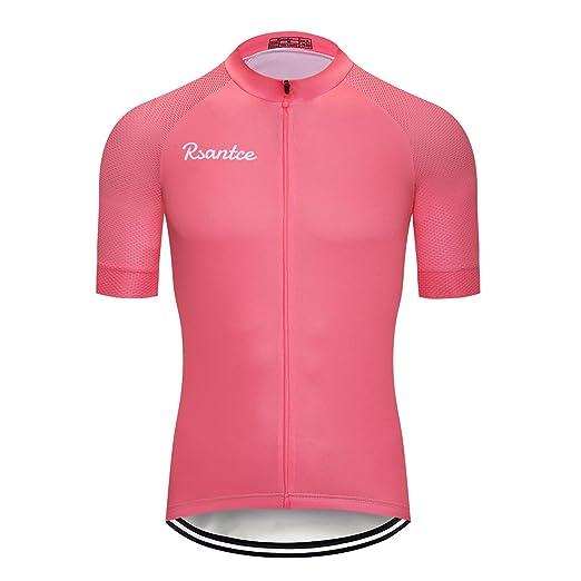 Rsantce Pro Team 2018 MTB Men Summer Short Sleeve Bike Cycling Jersey  Clothes Bicycle Triathlon Shirt e152d0f63