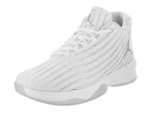 brand new e0e32 de38e ... Nike Jordan Mens Jordan B. Fly WhiteWolf GreyPure Platinum Basketball  Shoe ...