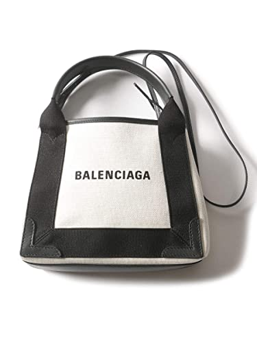 8e428aa1650e (バレンシアガ) BALENCIAGA 2WAY キャンバス ロゴプリント ポーチ付き トートバッグ [BCL390346AQ38N8]ブラック