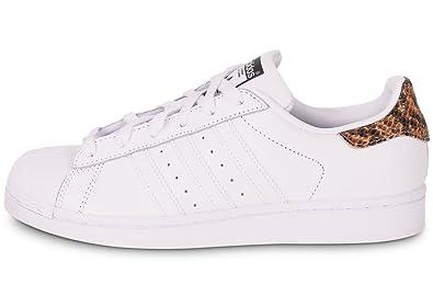 e824806e0863 adidas Women s Superstar Trainer White Size  6 UK  Amazon.co.uk ...