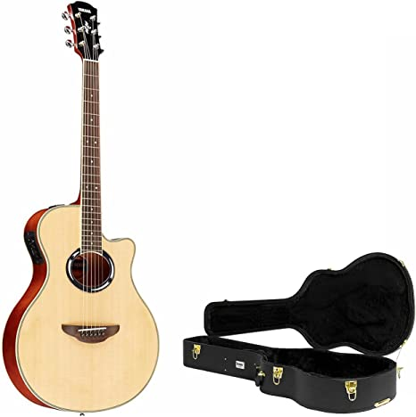 Yamaha apx500iii guitarra acústica/eléctrica Natural con Knox ...