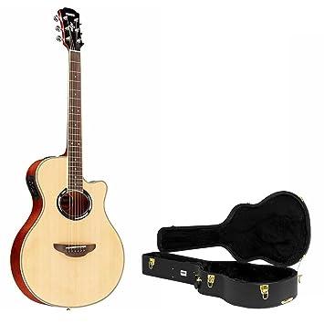 Yamaha apx500iii guitarra acústica/eléctrica Natural con Knox carcasa Funda: Amazon.es: Instrumentos musicales