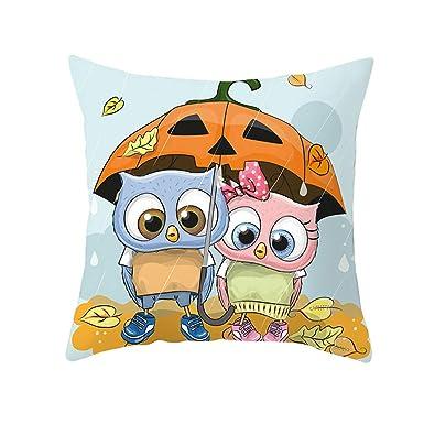 FELZ Nordic Fundas de Almohada de Halloween Decoración de ...