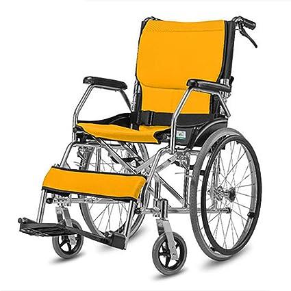 DPPAN Drive Medical Transport Silla de ruedas Aleación de aluminio plegable, resistente y resistente,