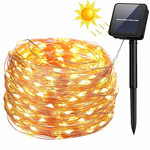 100 Led Fairy Solar String Lights in US - 7